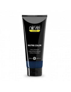 Nirvel mascarilla nutre color azul 200 ml