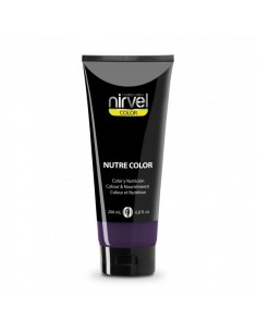Nirvel mascarilla nutre-color berenjena 200 ml