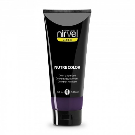 MASCARILLA NIRVEL NUTRE-COLOR BEREJENA 200ML