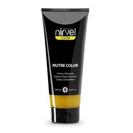 Nirvel mascarilla nutre color amarillo 200 ml