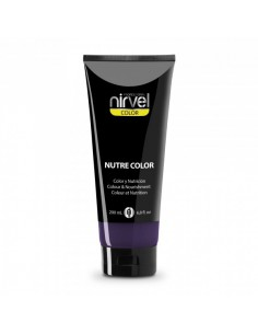 Nirvel mascarilla nutre color morado 200 ml