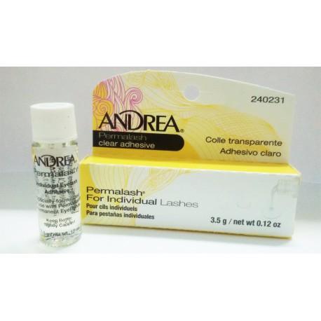 Andrea adhesivo para pestañas individuales o grupos c/transparente