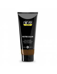 Nirvel mascarilla nutre color marrón intenso 200 ml