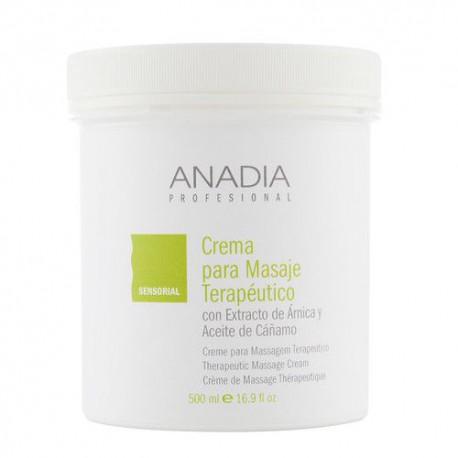 Anadia crema para masaje terapéutico 500 ml.