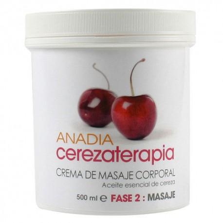 Anadia Crema de masaje corporal de cereza 500 ml