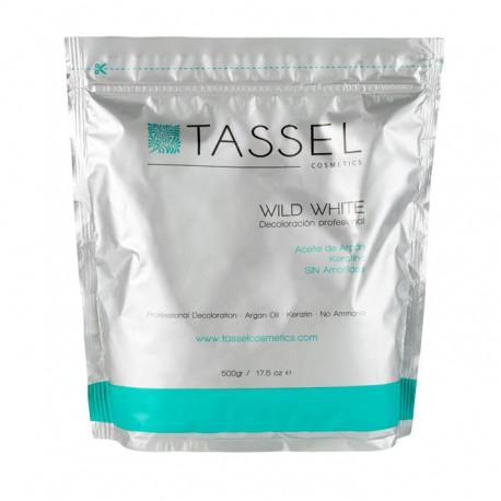 Tassel Decoloración sin amoniaco con aceite de Argán y Keratina 500 gr.