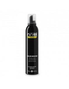 Nirvel espuma de color castaño oscuro 300 ml