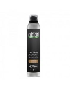 Nirvel dry color cubre canas castaño claro 300 ml
