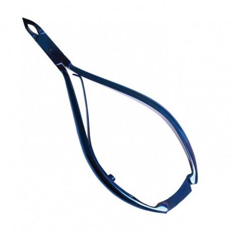 Pollié Alicate corta cuticulas 12 cm. azul titanio