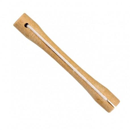 Bolsa 12 und. bigudis madera nº3