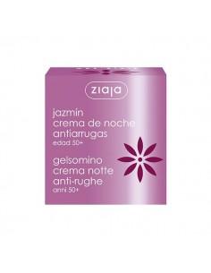 Ziaja Jazmin crema facial de noche antiarrugas 50+