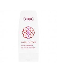Ziaja micro-peeling 60 ml de manteca de rosa 30+