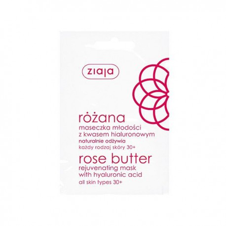 Ziaja mascarilla rejuvenecedora (20 sobres) Manteca de Rosa