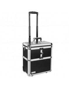 Eurostil maleta trolley negra