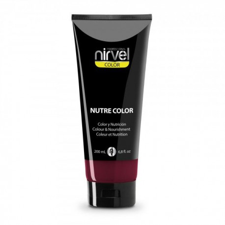 MASCARILLA NIRVEL NUTRE-COLOR FUCSIA 200ML