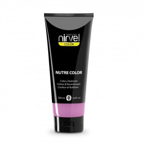 Nirvel mascarilla nutre color chicle 200 ml