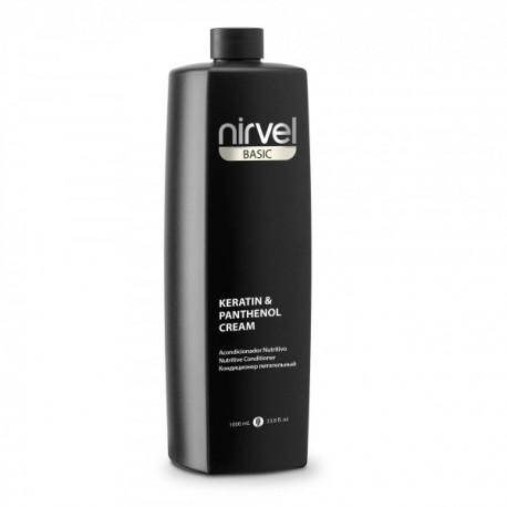 Nirvel Crema acondicionadora Keratin & Panthenol 1L.