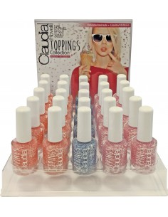 Expositor esmaltes de uñas Toppins Claudia Rovelli