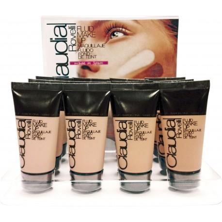 Expositor maquillaje fluido