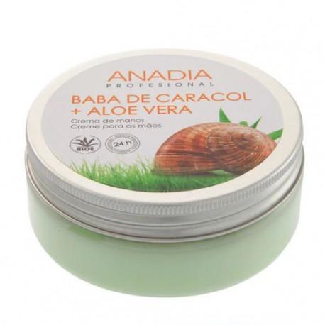 Anadia Crema de manos con baba de caracol y aloe vera 200 ml
