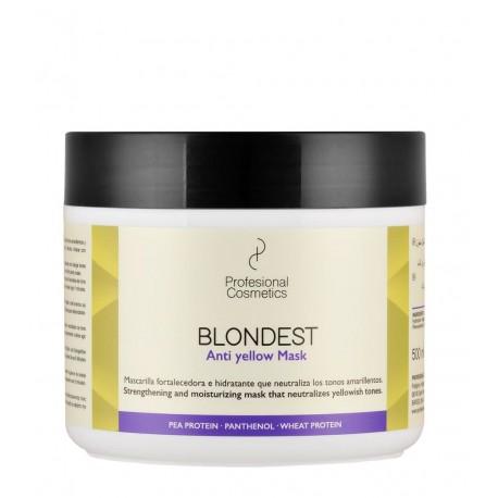 Mascarilla Blondest Antiamarillo 500 ml