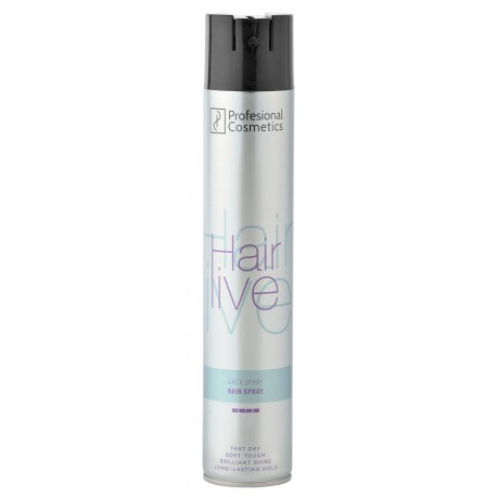 Laca Hairlive Spray extra fuerte 1000 ml