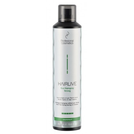 Laca Ecologica Hairlive fuerte 400 ml