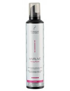 Espuma HairLive fuerte restructurante 400 ml
