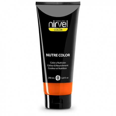 Nirvel mascarilla nutre color naranja 200 ml