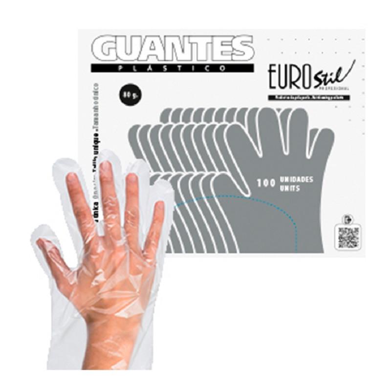 Eurostil Guantes de un solo uso 100 und.