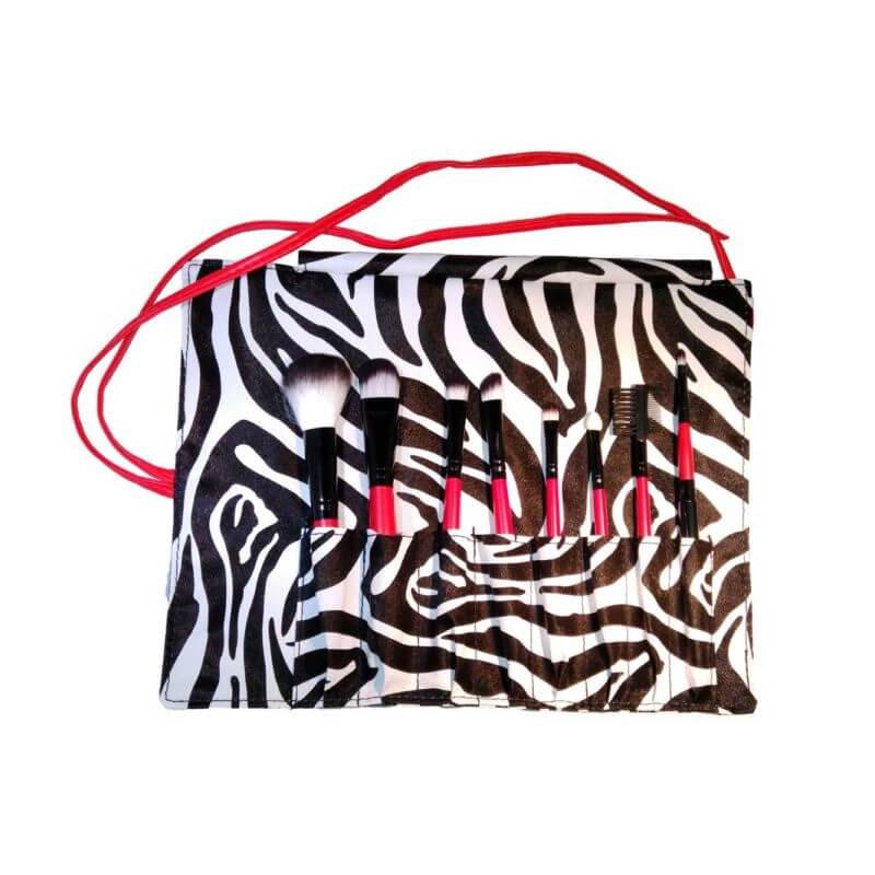 Albiline Manta de pinceles zebra 8...