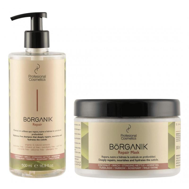 Pack Borganik de profesional Cosmetics