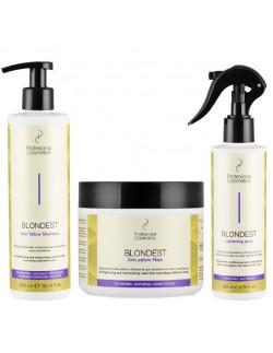 Pack 3 productos blondest de profesional cosmetics