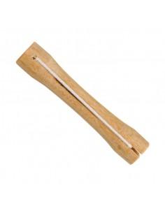 Bigudis madera N.8 (12u)